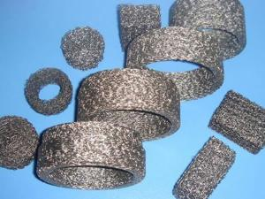 Compressed Knitted Wire Mesh Washer